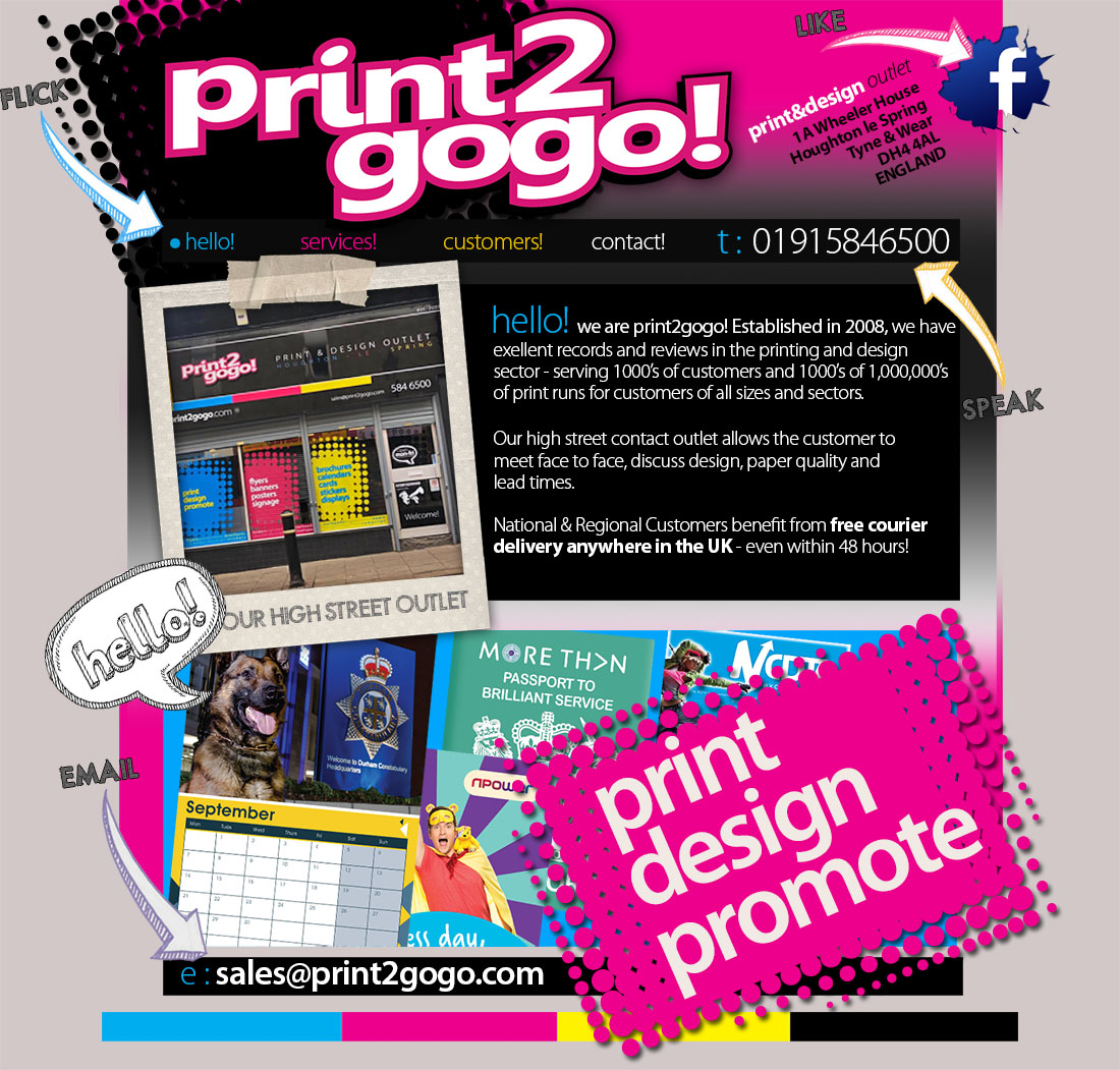 Poster design and printing - North East Printing Leaflet Printing Flyer Printing Brochure Printing