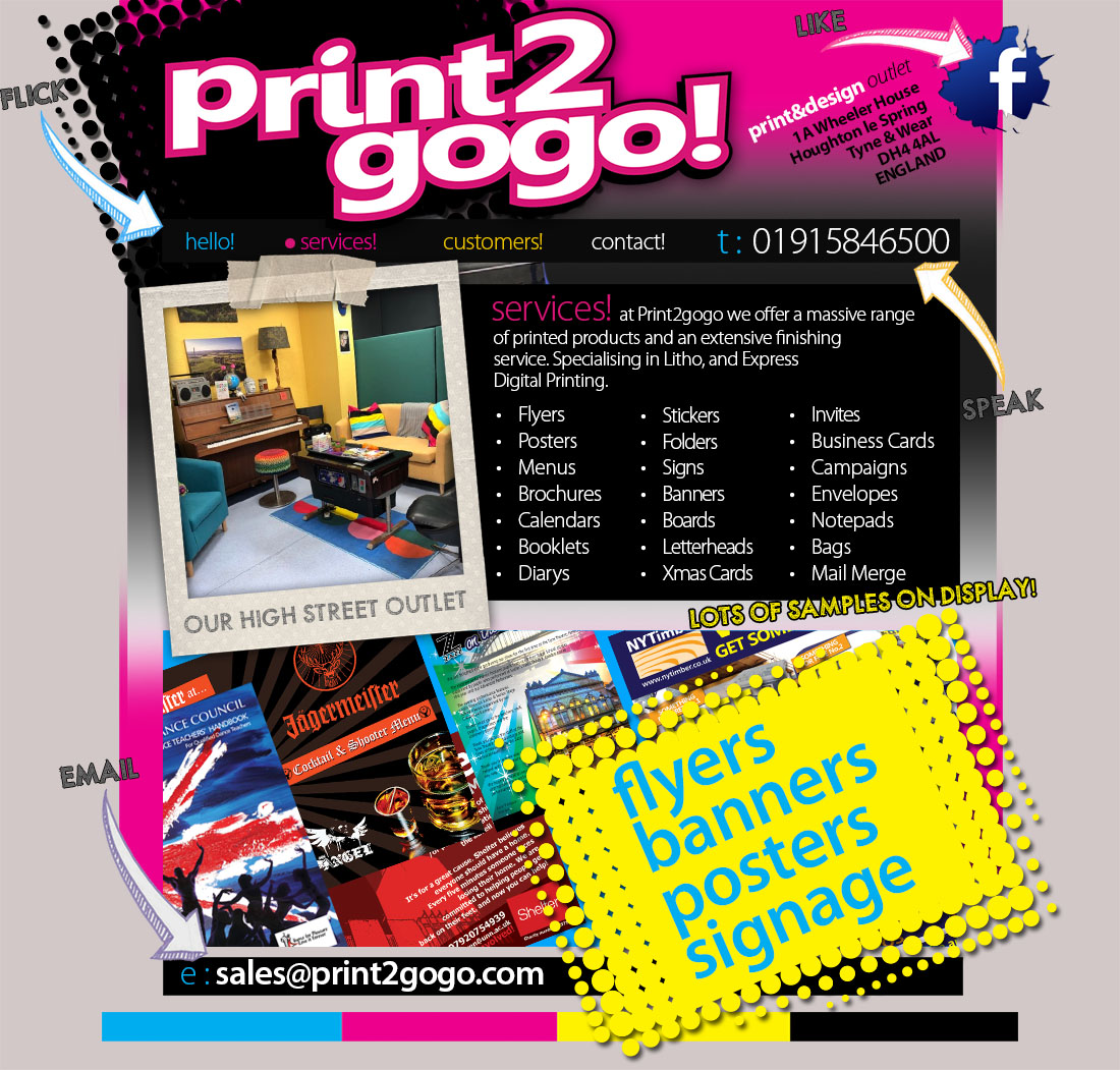 Business Card Printing from Print2gogo